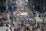 Thousands protest in Berlin against coronavirus restrictions