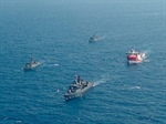 Turkish and Greek warships collide in eastern Mediterranean