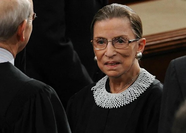Supreme Court Justice Ruth Bader Ginsburg dies